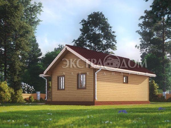 Одноэтажные дачи