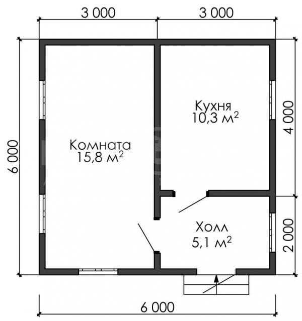 МД 661 ( 6,0 х 6,0 )