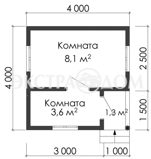 МД 443 (4,0 х 4,0)